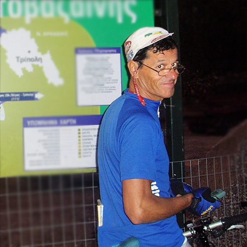 Giorgos Altyparmarkis, Chief Bike Mechanic