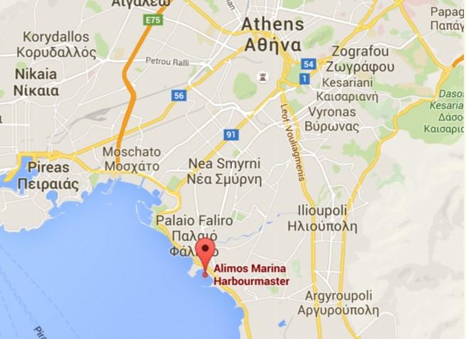alimos_marina_yacht_lies_map