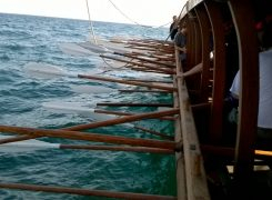 Rowing an Ancient Greek Trireme